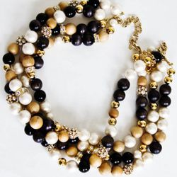 """<a href=""""http://www.katespade.com/wood-you-be-mine-twisted-necklace/WBRU3337,default,pd.html?dwvar_WBRU3337_color=231&start=16&cgid=jewelry-necklaces"""" rel=""""nofollow"""">Wood You Be Mine twisted necklace</a>, $348"""