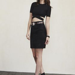 Helen top in black, $68 (also available in white)