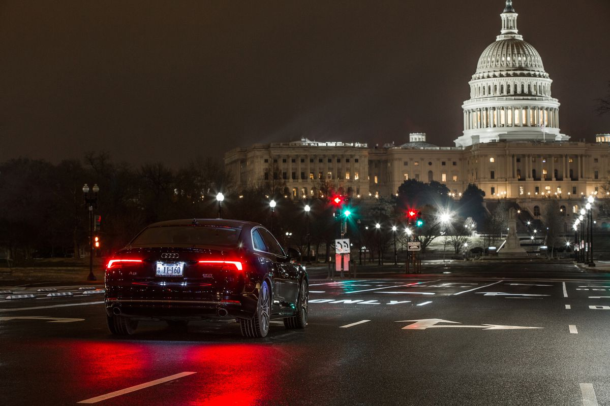 Now your Audi can read Washington, DC's traffic lights - The Verge Audi on aston martin, ford motor company, land rover, bentley motors limited,