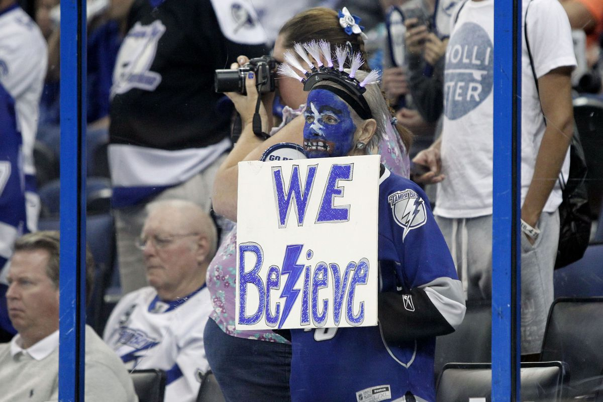 The Lightning will need all the help they can get tonight.