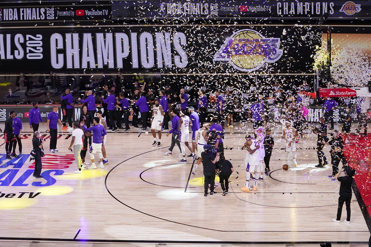 The NBA champion Lakers would have a very short turnaround time if the new season starts Dec. 22.