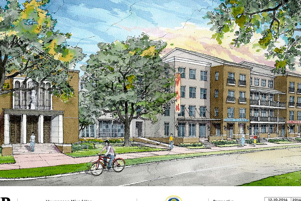 Plans for Vaucresson's Creole Cafe and mixed-income development
