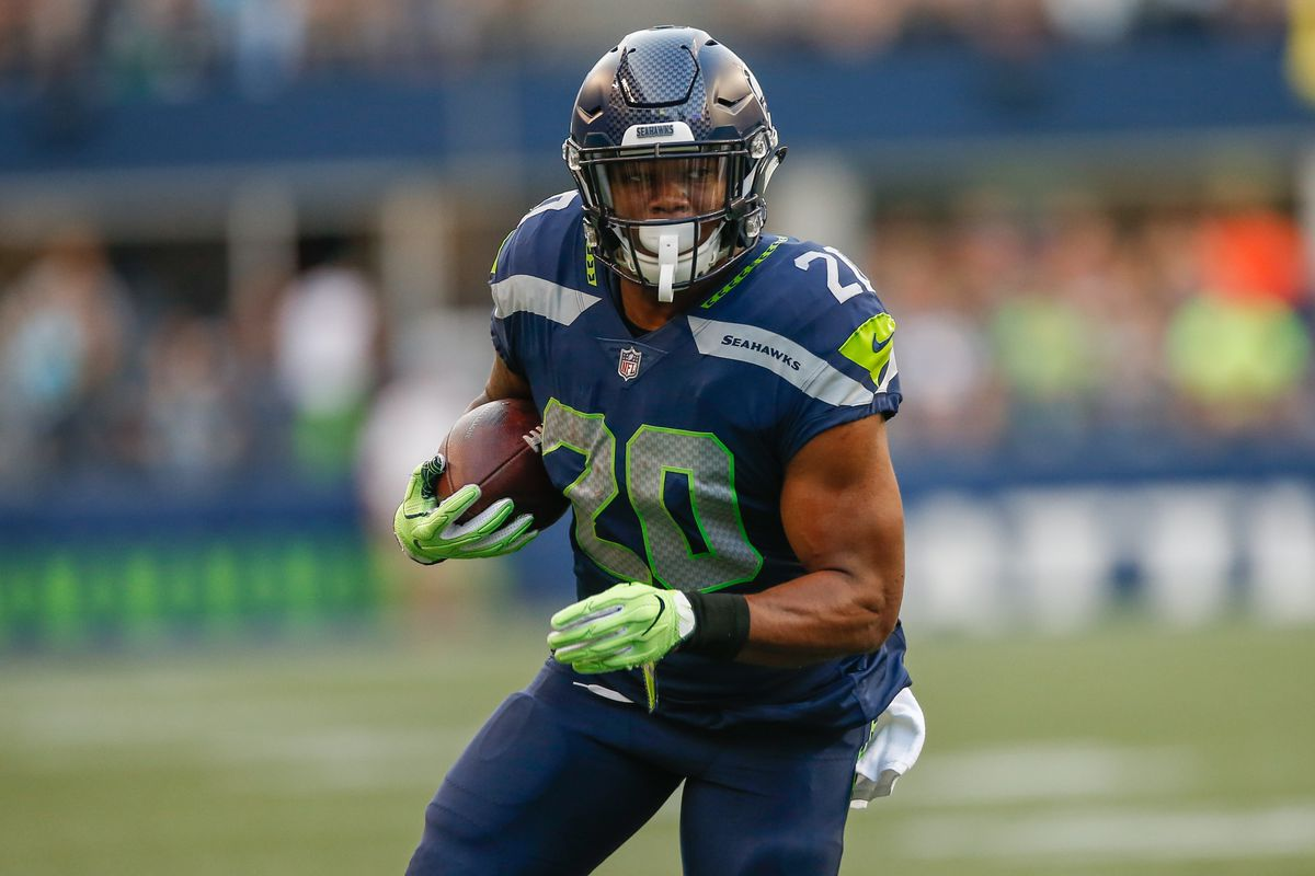 on sale 4ee7f 9f377 Report: Seahawks RB Rashaad Penny has a broken finger, hand ...