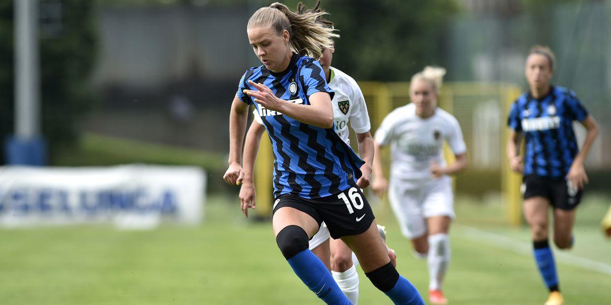 Inter Milan's Caroline Møller Hansen Will Reportedly Be Real Madrid Femenino's First Signing Of