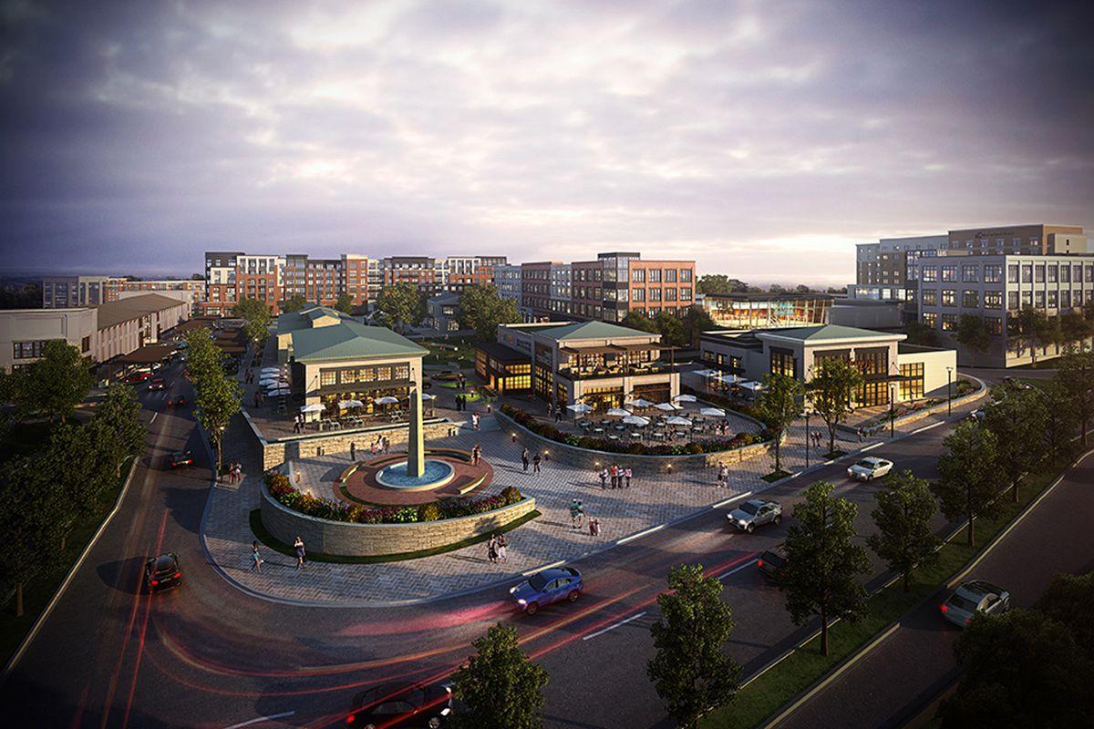Forsyth County's Halcyon project unveils Krog-style market ...