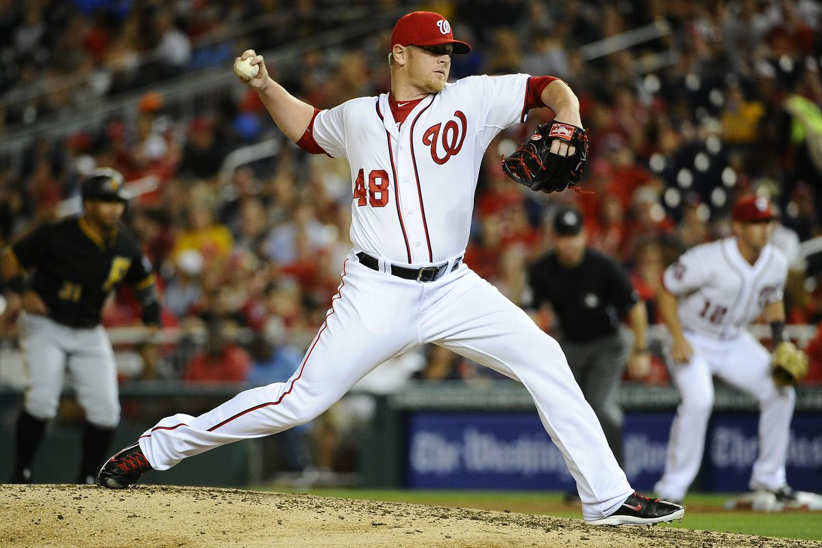 David Carpenter has been terrific since the Nats acquired him, but was he really the right call in the eighth inning last night?