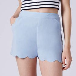 """<b>Nicola Fumo, <a href=""""http://racked.com"""">Racked</a> market editor:</b> """"I think <b>Topshop</b> does a great job with high-waisted styles, which are great for balancing my apple shape. I bought these <a href=""""http://us.topshop.com/en/tsus/product/clothi"""