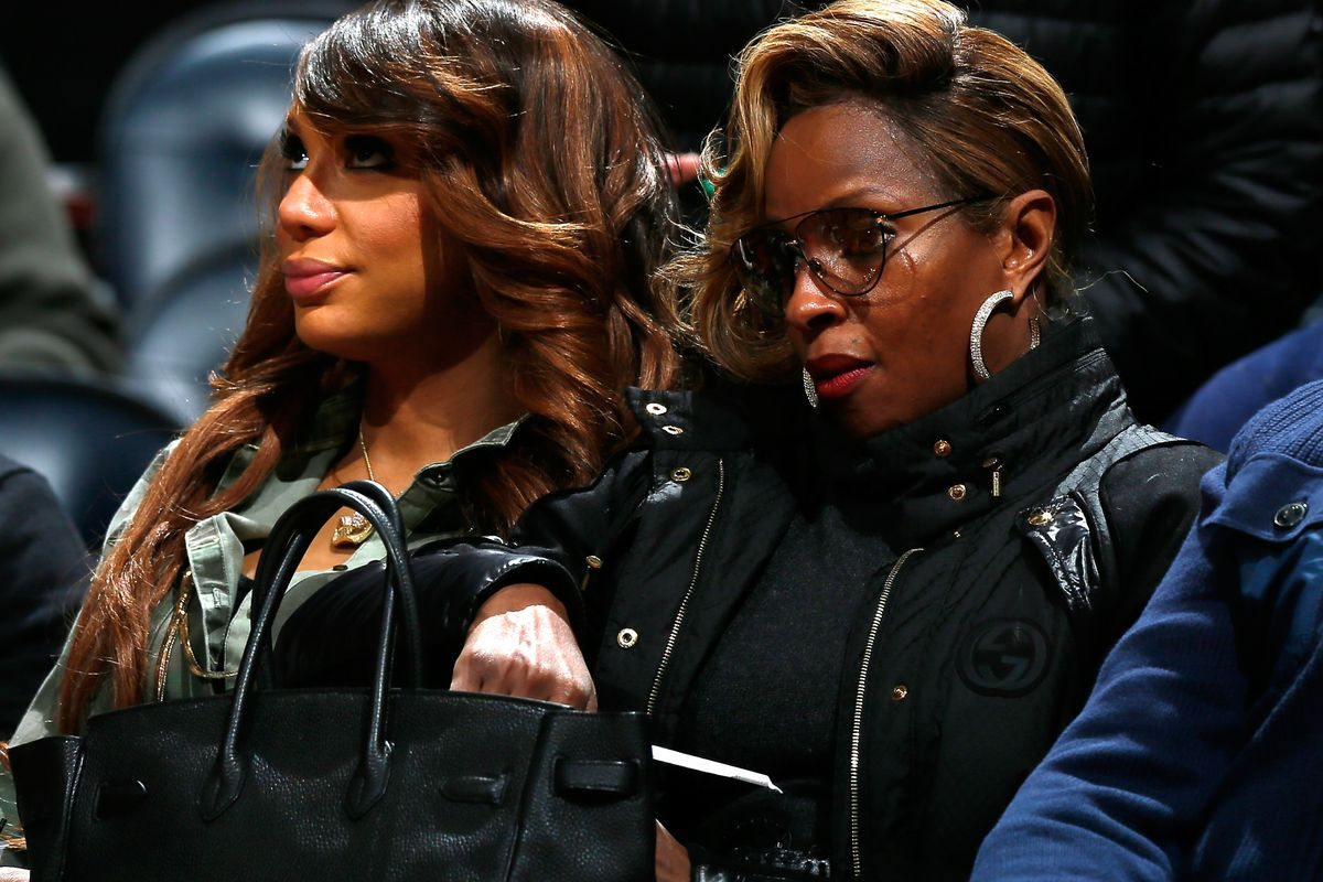 """Mary J and Tamar Braxton dropped by to say """"NO MORE LIES"""""""