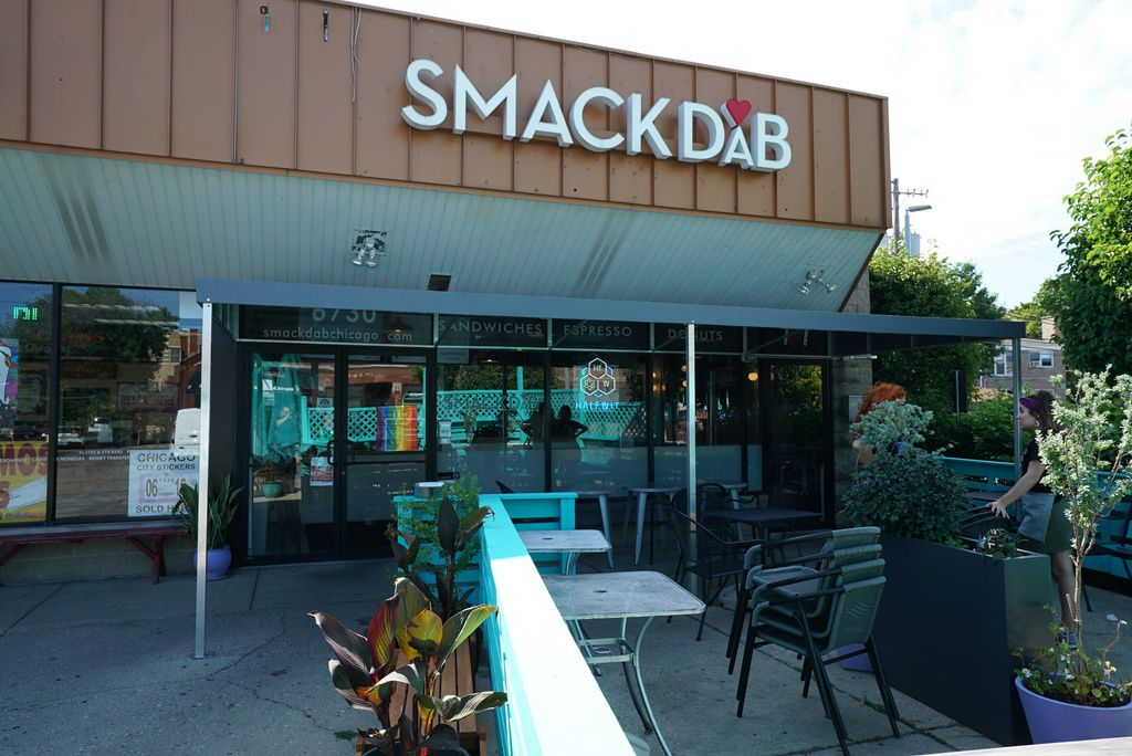 Smack Dab restaurant is located at6730 N Clark St. in Rogers Park.