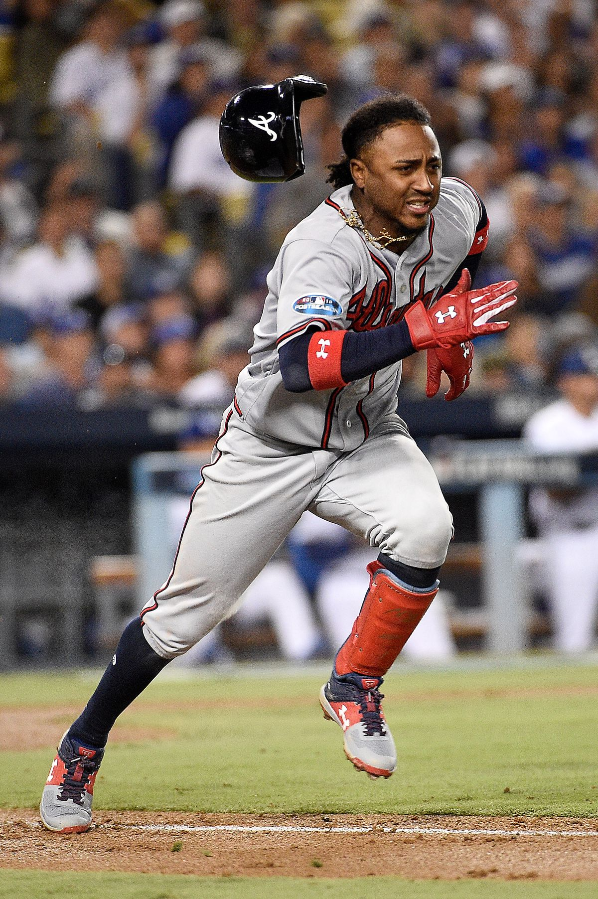 Divisional Round - Atlanta Braves v Los Angeles Dodgers - Game Two