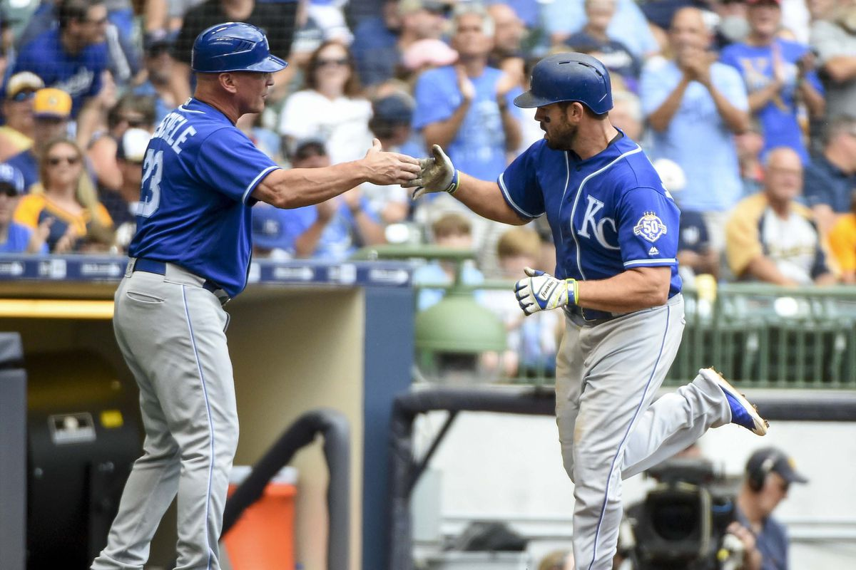 MLB: Kansas City Royals at Milwaukee Brewers