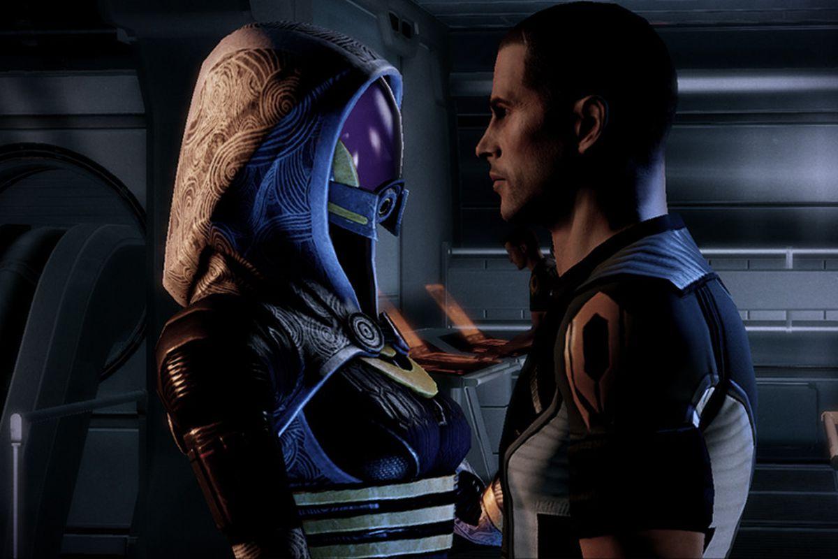 Mass Effect 2 - Shepard / Tali romance 960