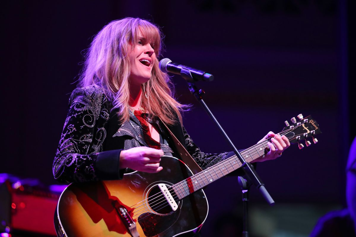 """Grace Potter performs onstage during CASH FEST In Celebration Of YouTube Originals Documentary """"THE GIFT: THE JOURNEY OF JOHNNY CASH"""" at War Memorial Auditorium on November 10, 2019 in Nashville, Tennessee."""
