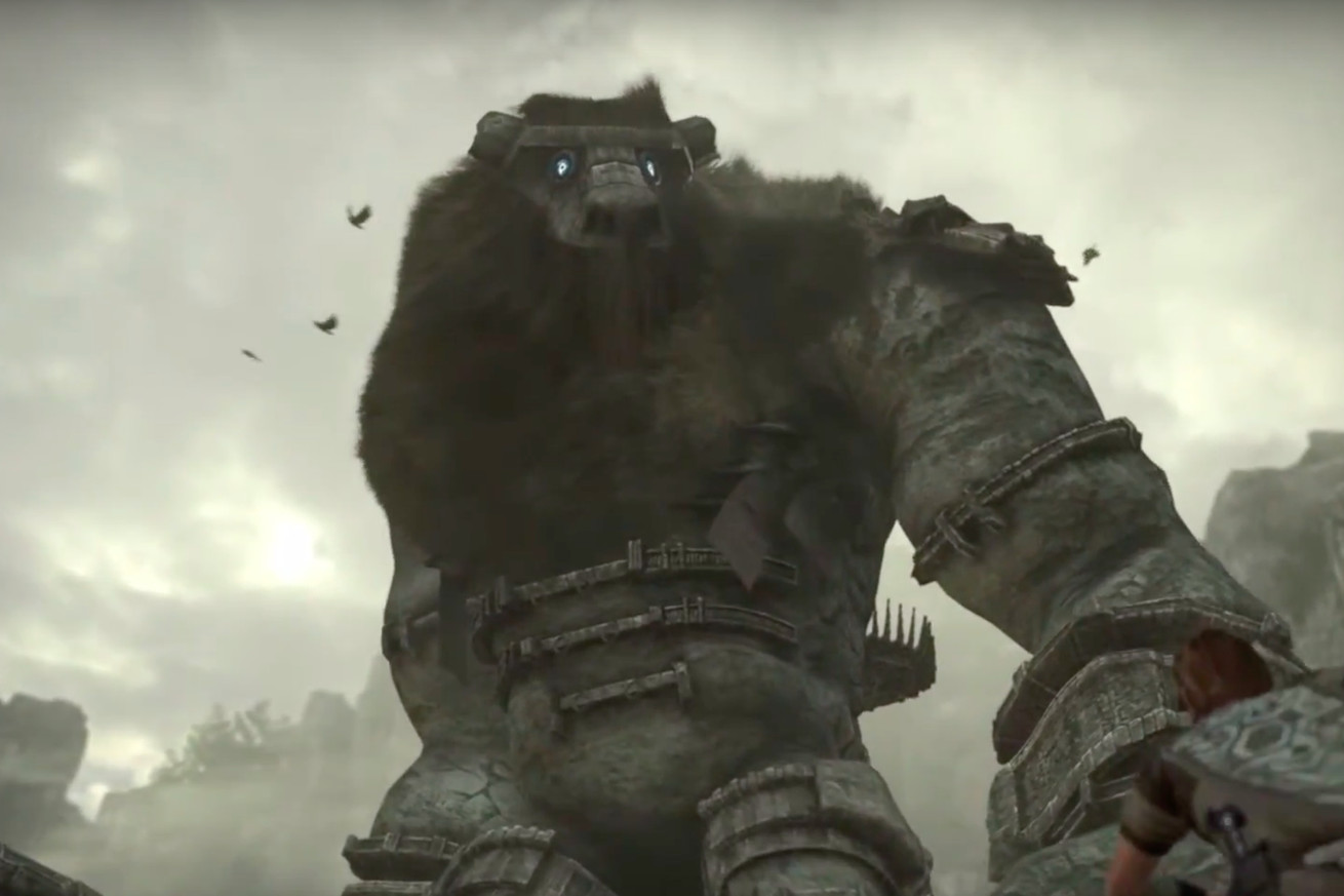 Image result for HD Remake of Shadow of the Colossus' For the Playstation 4
