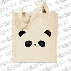 "Panda tote, <a href=""http://www.etsy.com/listing/61143046/panda-tote-bag-sleepy-panda-print-on-a?ref=sr_gallery_12&ga_search_query=panda&ga_order=most_relevant&ga_view_type=gallery&ga_ship_to=US&ga_ref=auto1&ga_search_type=all"">$12</a> on Etsy"