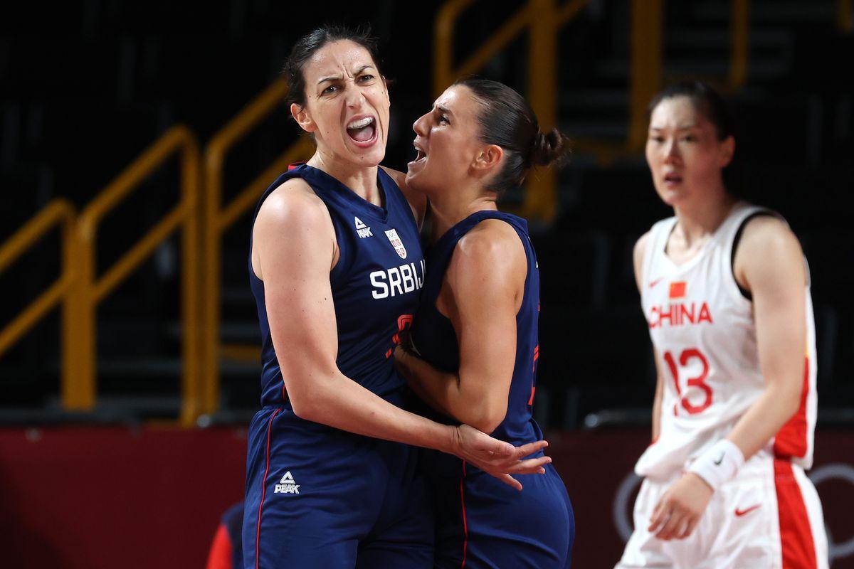 China v Serbia Women's Basketball - Olympics: Day 12