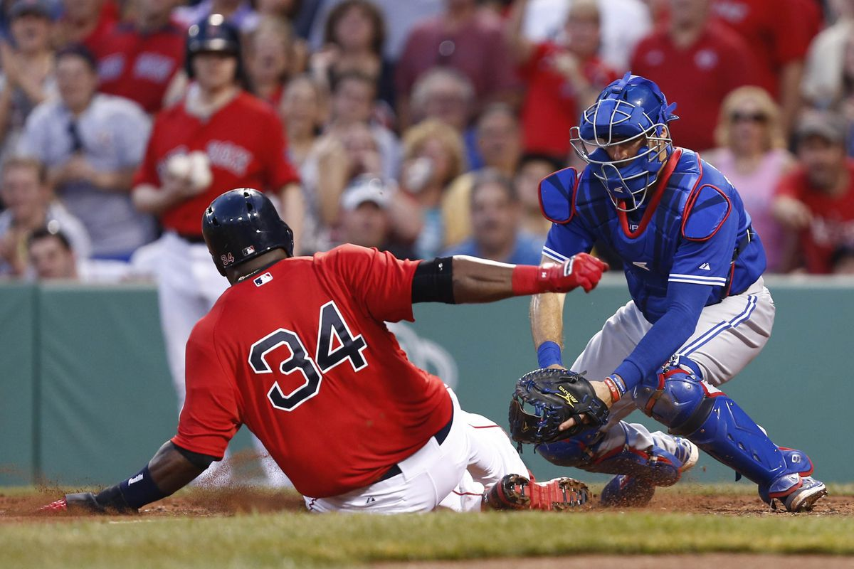 JP tags out Ortiz.
