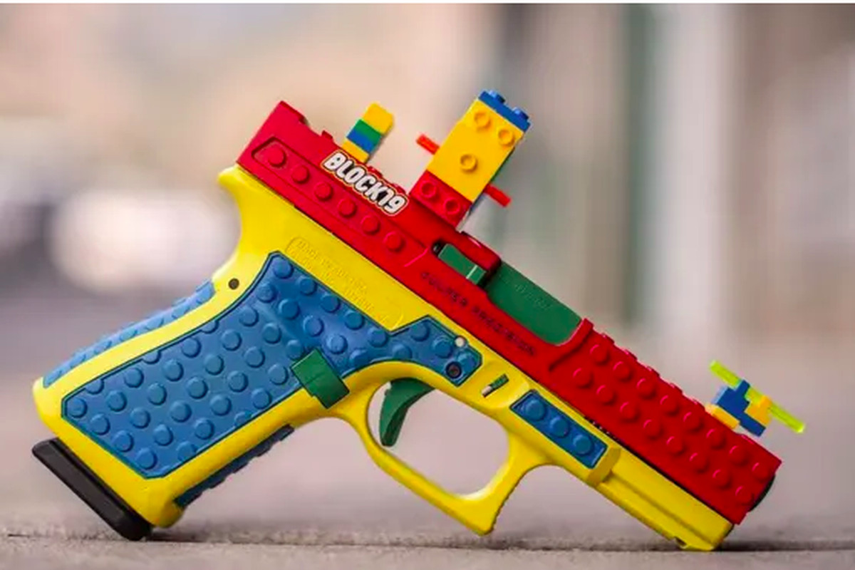 """On its Instagram account, Provo-based Culper Precision said it had made what it called its Block 19 Glock """"to create an opportunity to talk about the enjoyment of the shooting sports and the joy that can only be found in marksmanship practice and training."""""""
