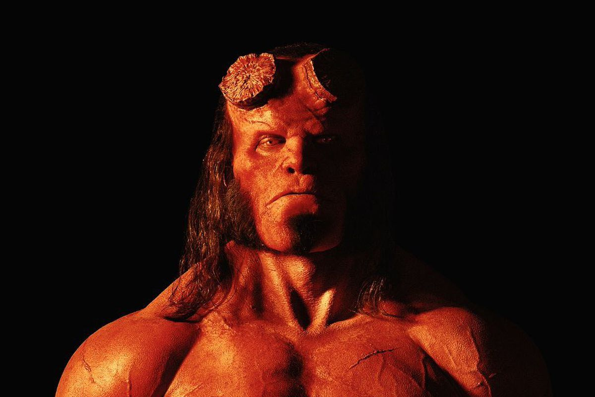 First Look At David Harbour As Hellboy; Reboot Release Date Revealed