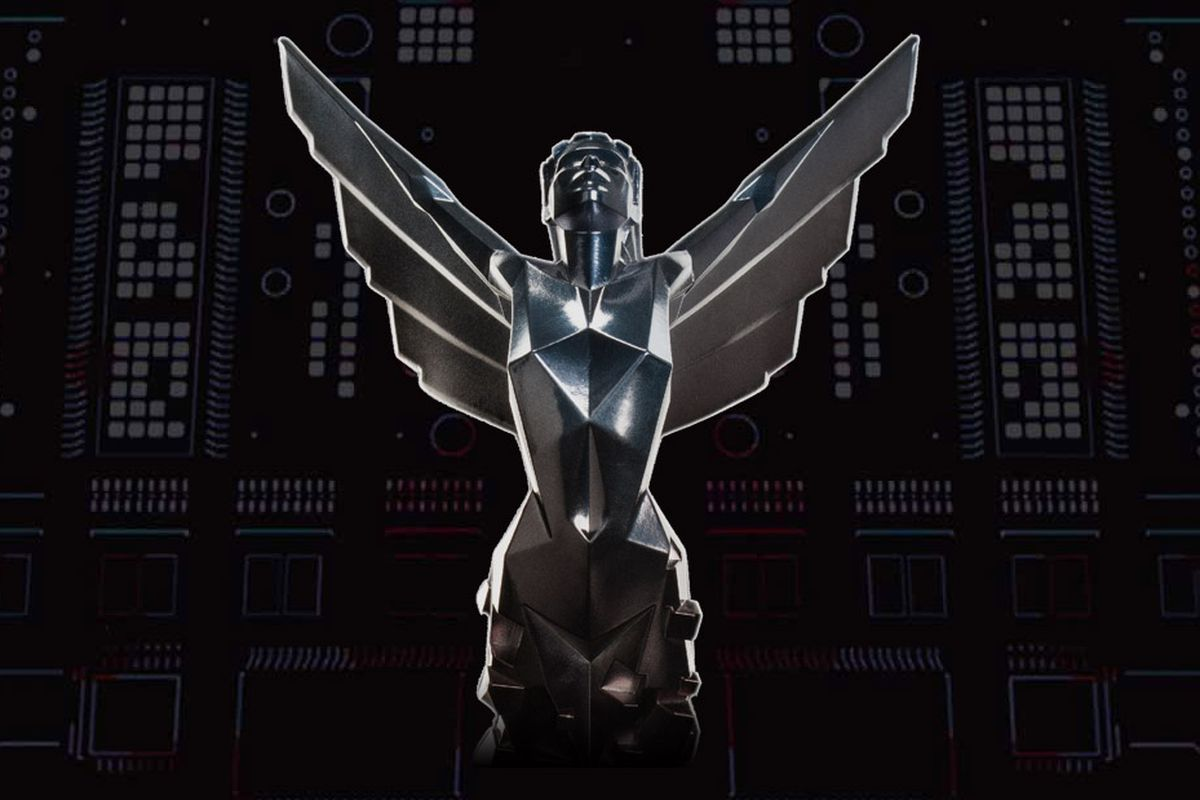 The Game Awards statue