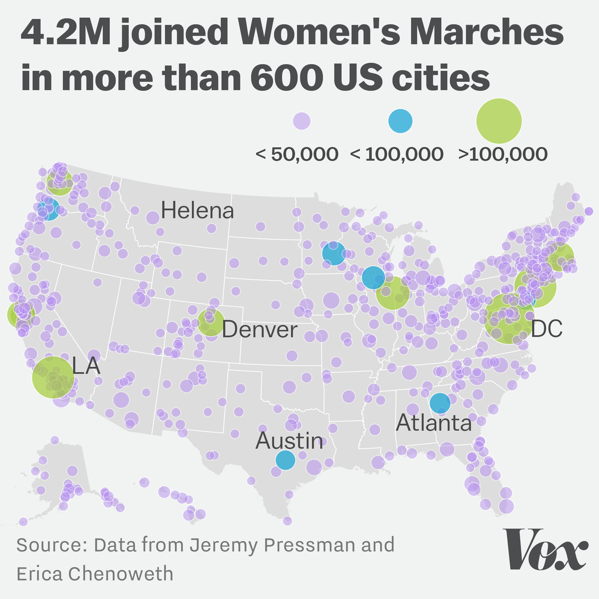 The Women S Marches May Have Been The Largest Demonstration In Us