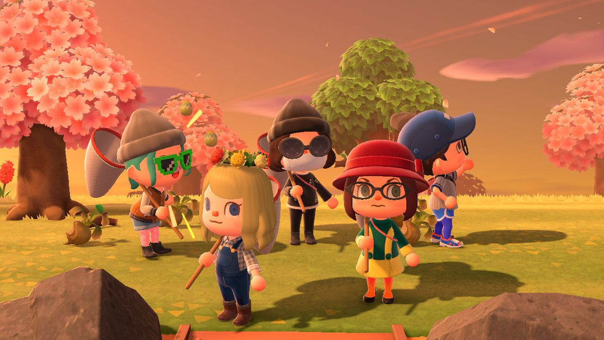 Polygon characters in Animal Crossing