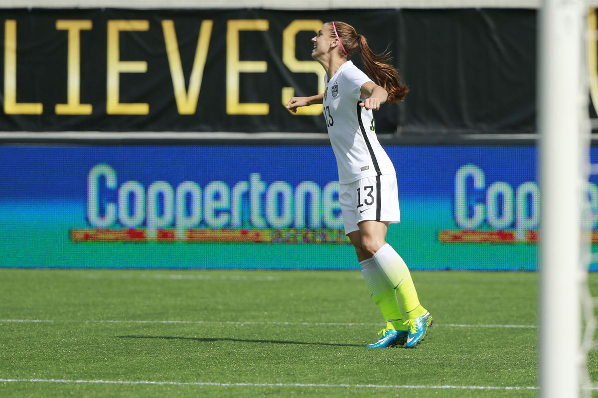 Alex Morgan scored 15 goals and had 11 assists in 3 years with the Portland Thorns, while also winning the 2013 NWSL Championship and a FIFA Women's World Cup.