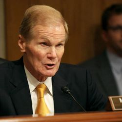 Senate Aging Committee Chairman Sen. Bill Nelson, D-Fla. speaks on Capitol Hill in Washington, Wednesday, Sept. 10, 2014, during the committee's hearing to examine older Americans and student loan debt.
