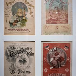 Sheet music written for the 1893 Columbian Exposition. | James Foster/For the Sun-Times