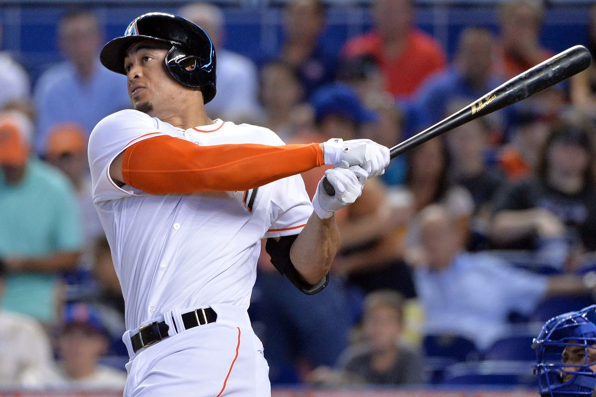 Giancarlo Stanton is the best hitter in the NL East.  Can he lead the Marlins to a playoff spot?