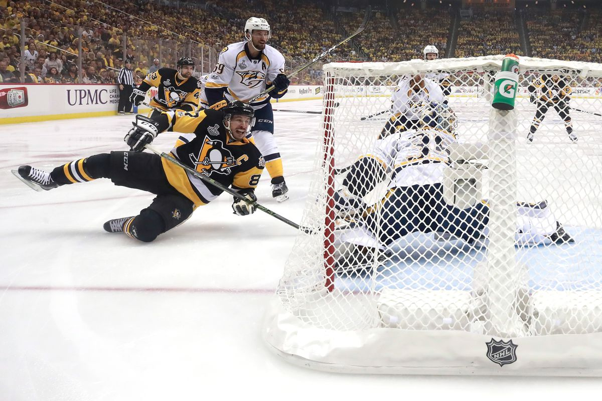 Predators Vs Penguins 2017 Final Sidney Crosby S 3 Points Put Pittsburgh 1 Win From The Stanley Cup Sbnation Com