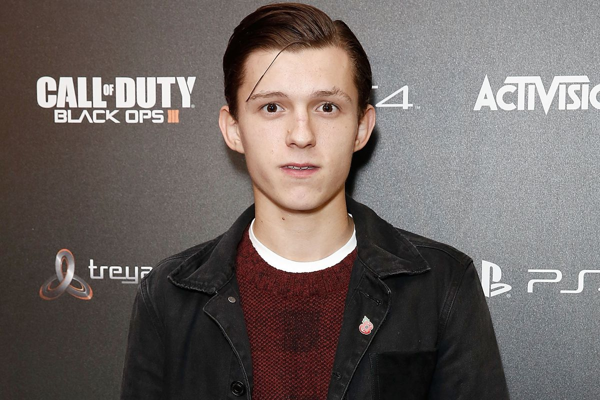 Tom Holland attends the Call of Duty Black Ops III launch at One Mayfair on November 5, 2015, in London, England.