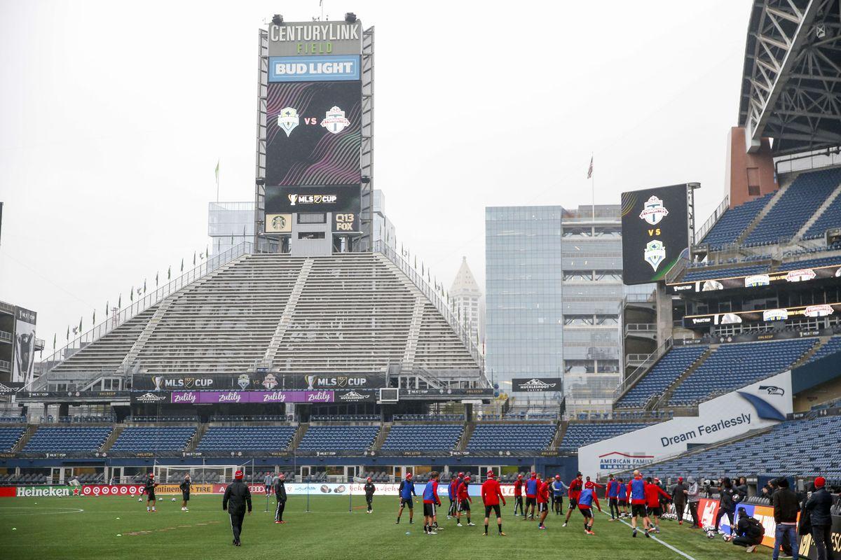 MLS: MLS Cup-Toronto FC Training