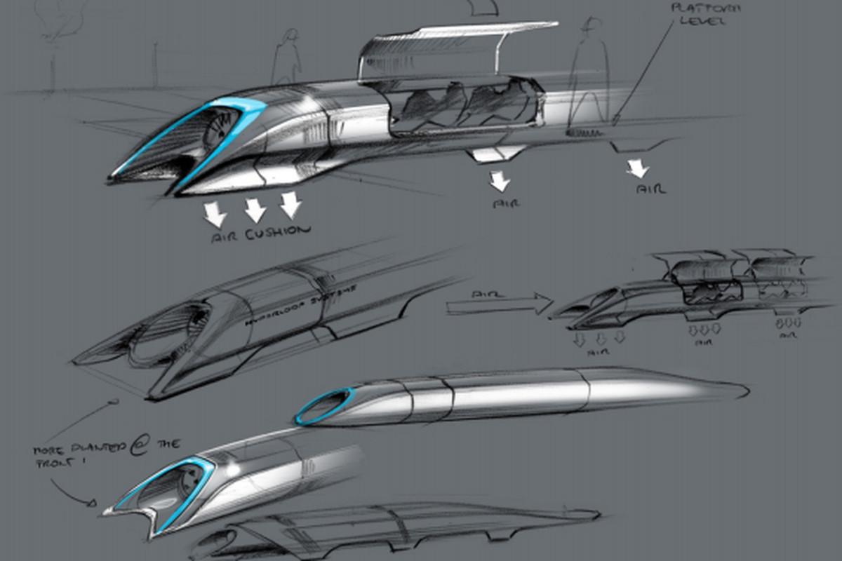hyperloop drawing