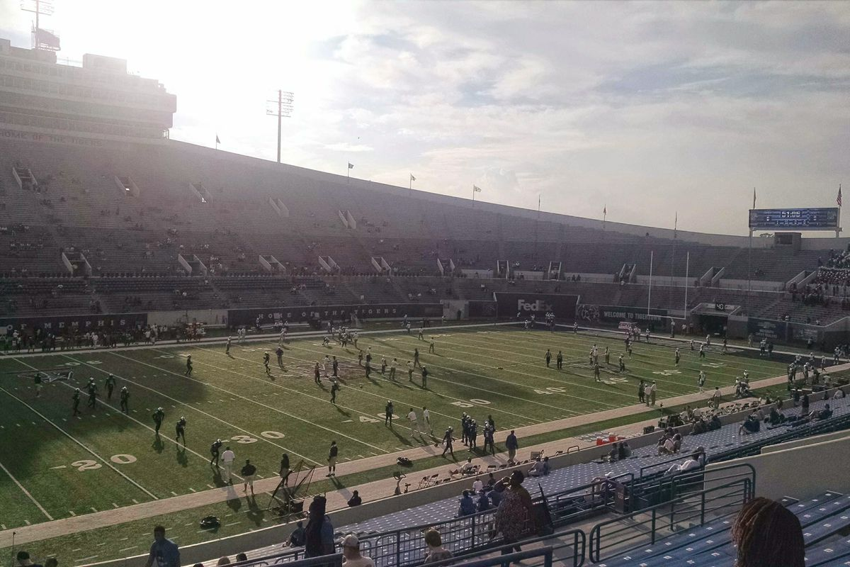 The Liberty Bowl prior to a 2014 Tigers home game