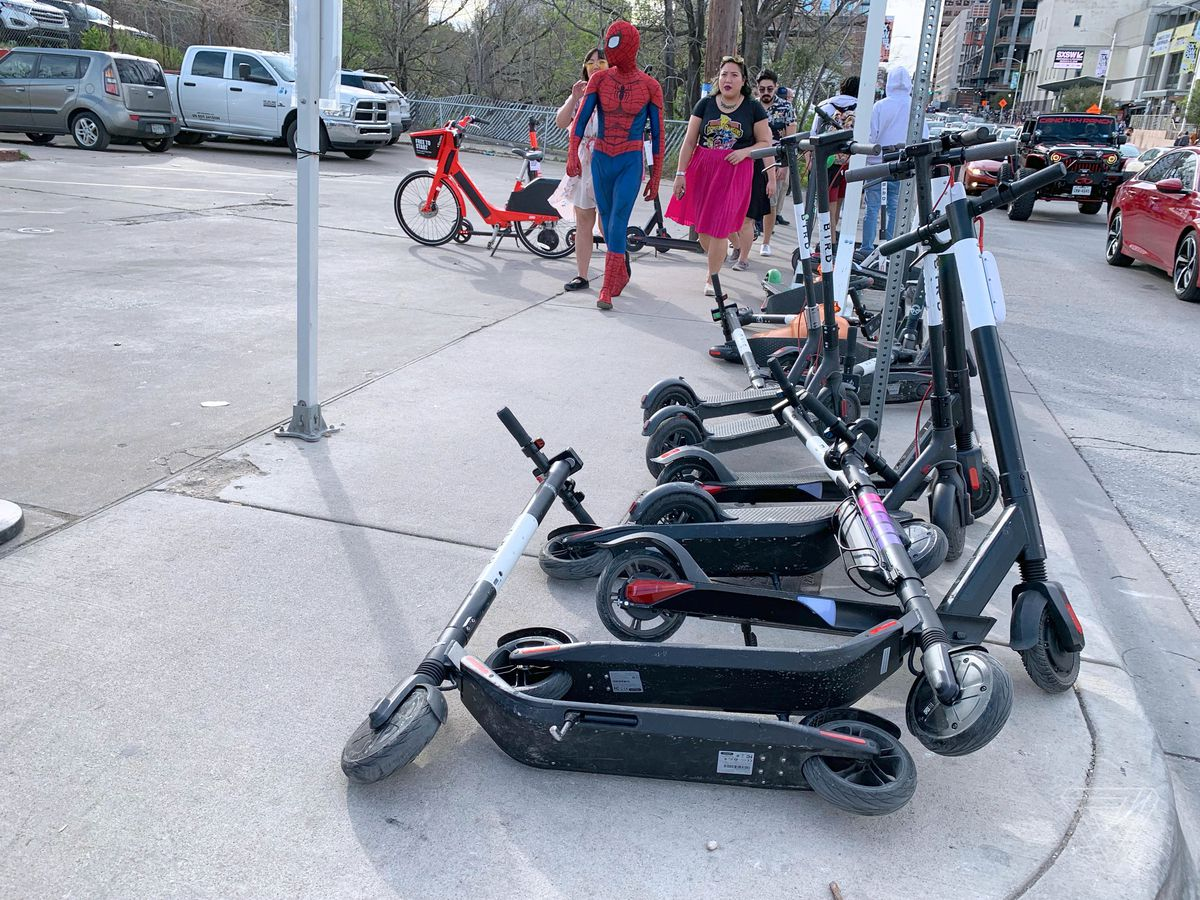 Austin's scooter invasion offers a glimpse of the chaotic