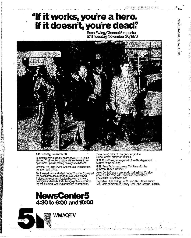A 1976 WMAQ-TV for Russ Ewing.