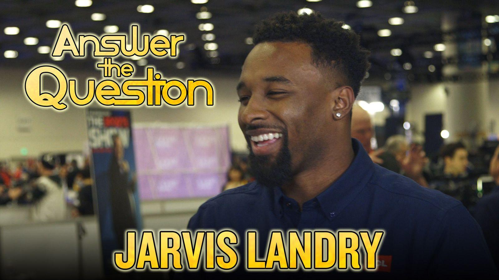 2016年超级碗:Jarvis Landry知道他的酷玩乐队,模仿Peyton Manning