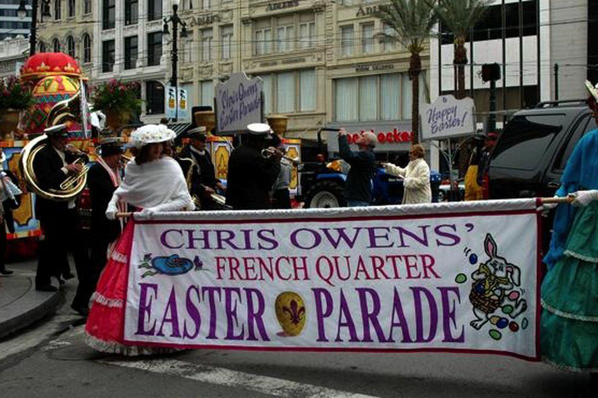 The Chris Owens French Quarter Easter Parade, 2007.