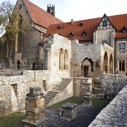 General view of the Augustinian monastery in Erfurt, eastern Germany, Wednesday, Nov. 8, 2006. Martin Luther spent six years there as a monk at the beginning of the 16th century.