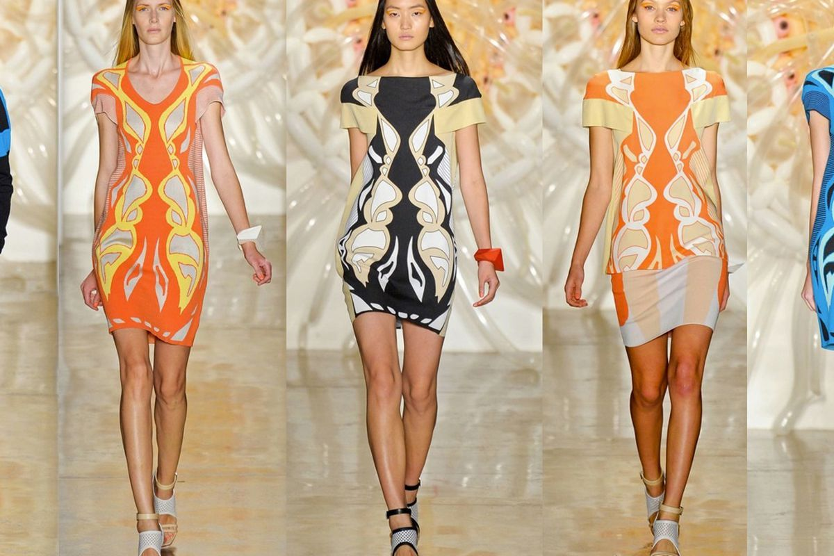 Ohne Titel's Spring / Summer 2013 collection. Click to enlarge.