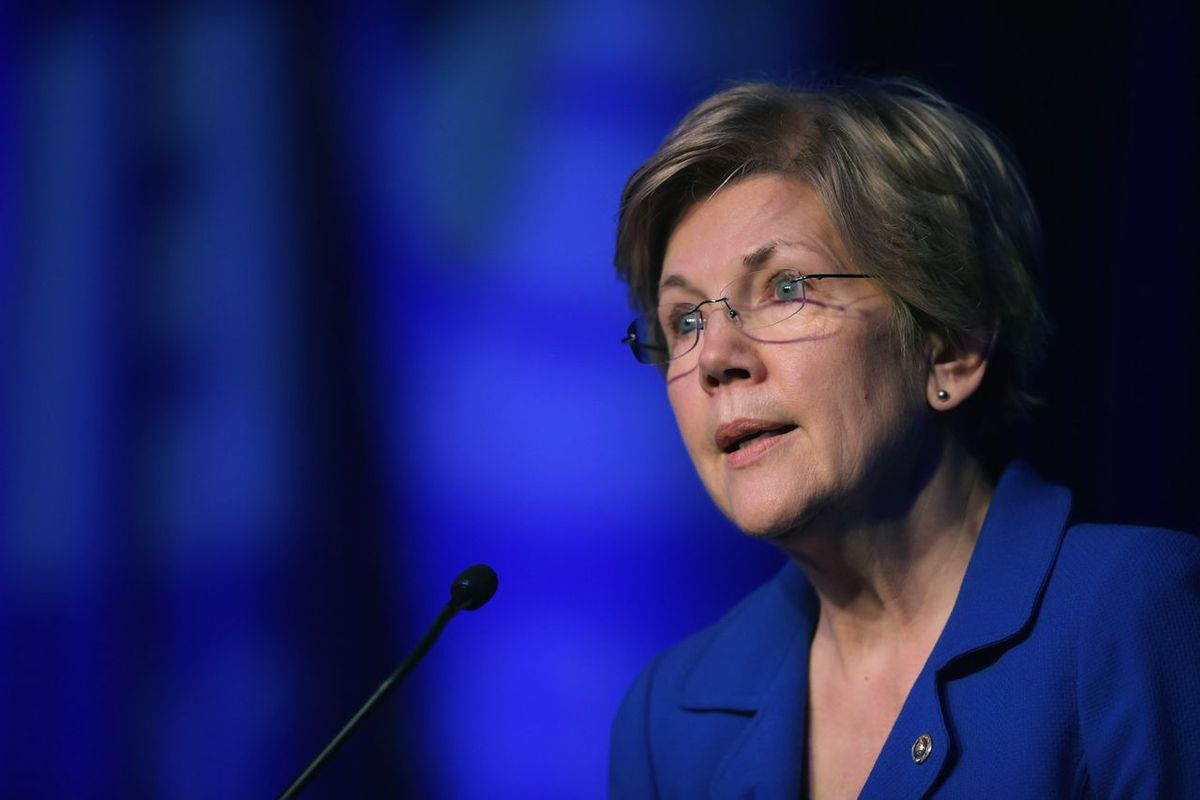 Sen. Elizabeth Warren issued a statement on Sunday about the brewing fight over Supreme Court Justice Antonin Scalia's replacement.