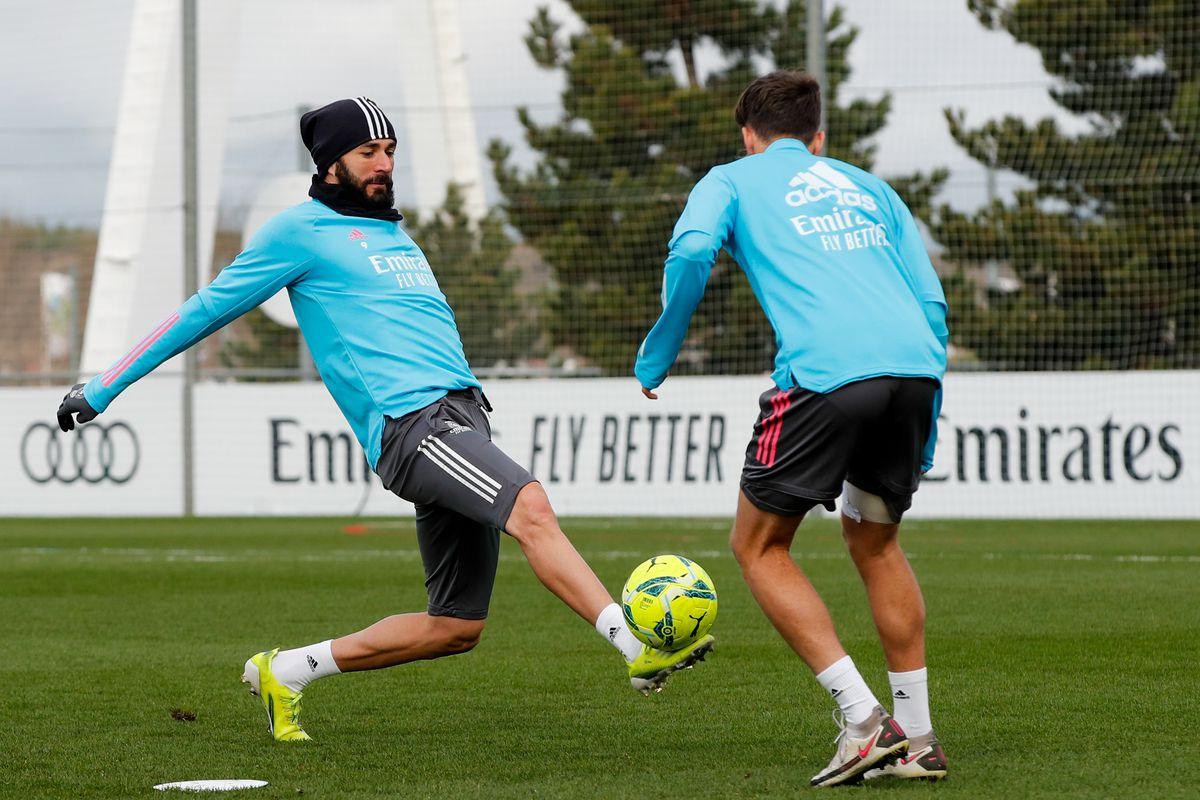 Real Madrid Training Session