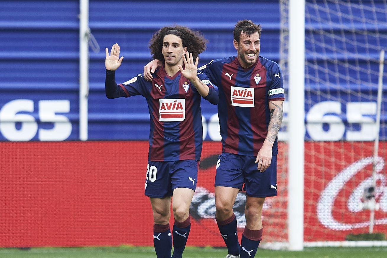Eibar to buy Cucurella, Barcelona to buy him back - report