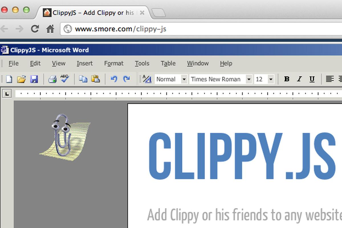clippy js assistant