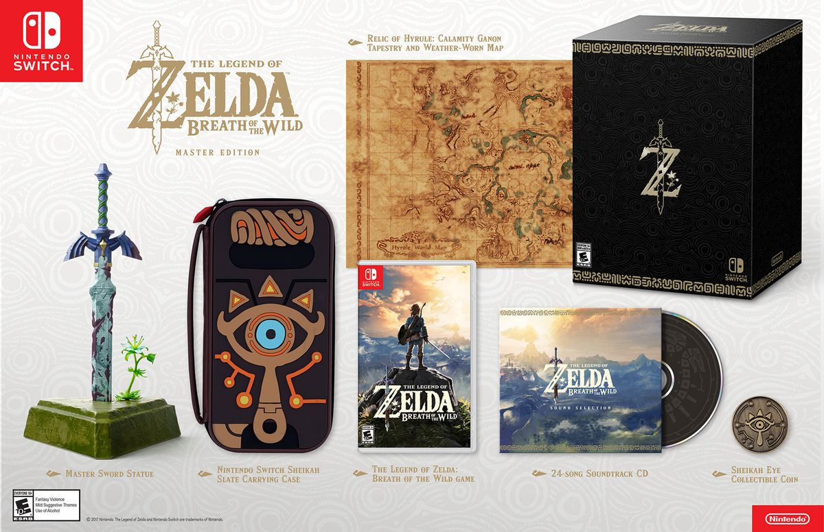 The Legend of Zelda: Breath of the Wild Master Edition product photo