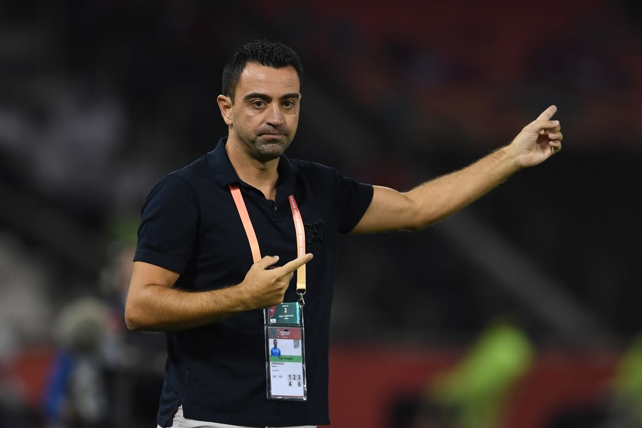 Xavi given all-clear and returns to work with Al-Sadd