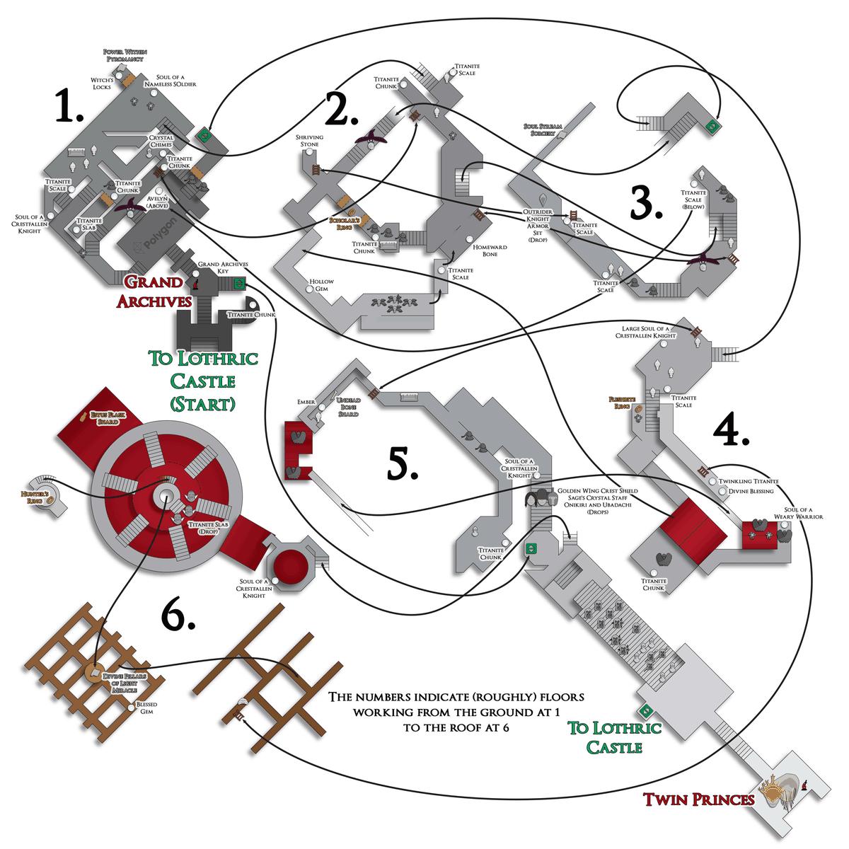 Dark Souls 3 maps guide - Polygon on