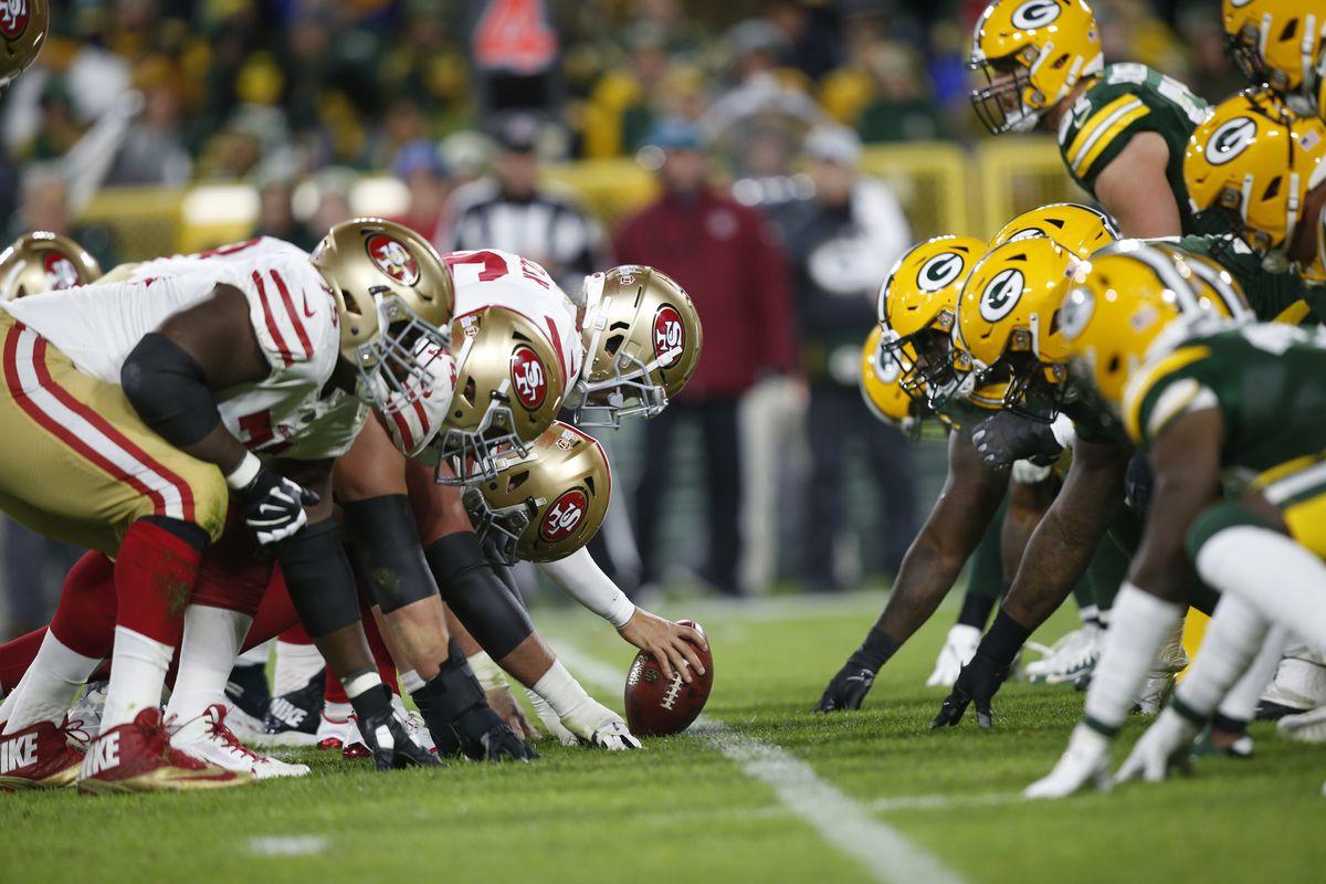 """Kết quả hình ảnh cho San Francisco 49ers vs Green Bay Packers preview"""""""
