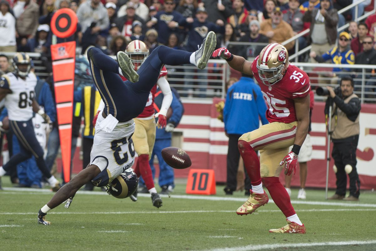 43dd58f57 St. Louis Rams At San Francisco 49ers  Key Stats Analysis - Week 17 ...